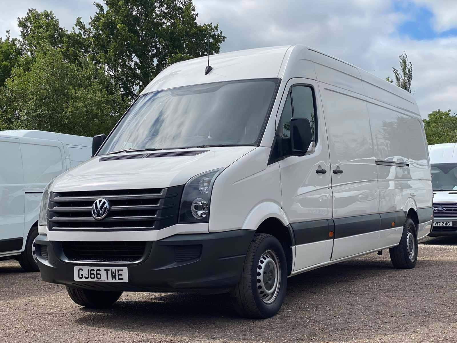 Volkswagen Crafter 2.0 TDI CR35 LWB High Roof Van 4dr (LWB)