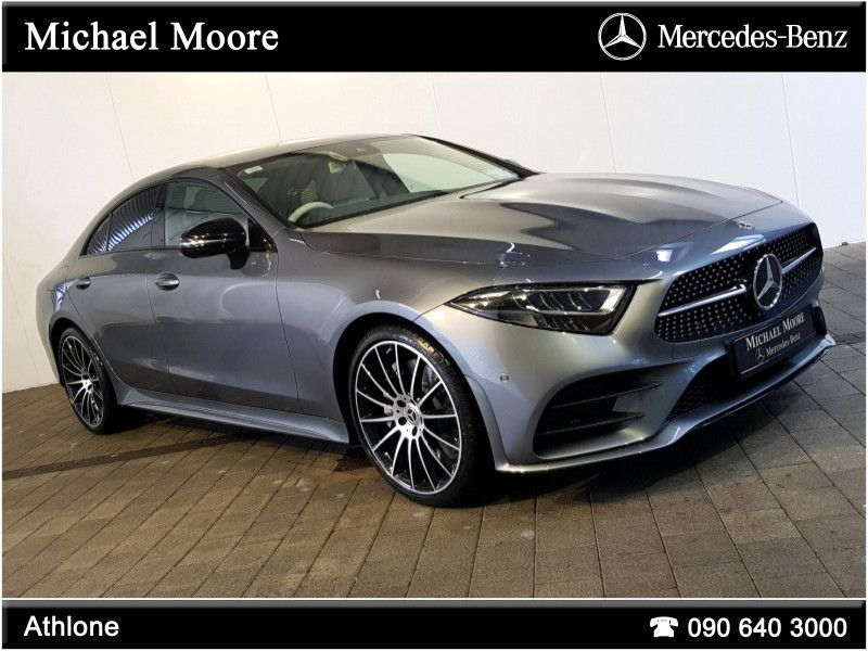 Mercedes-Benz CLS-Class CLS300d AMG COUPE *NIGHT PACK,20 INCH ALLOYS* AUTO (TWIN TURBO)