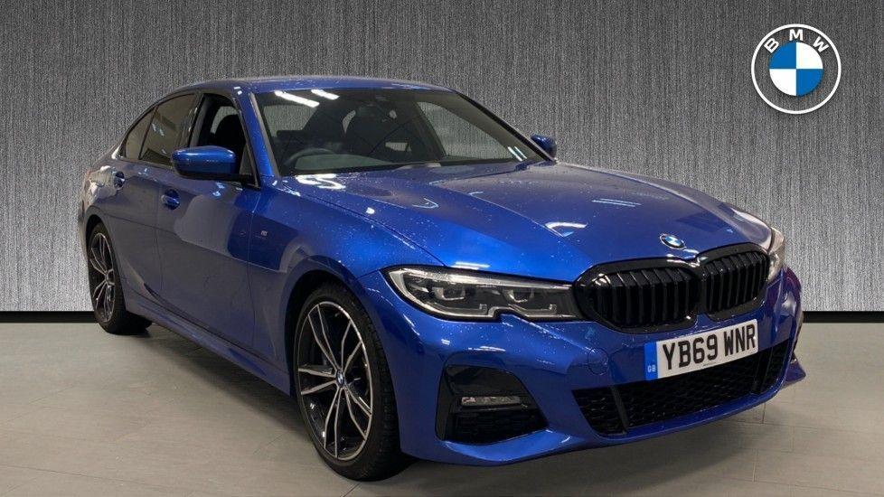 Image 1 - BMW 320d M Sport Saloon (YB69WNR)