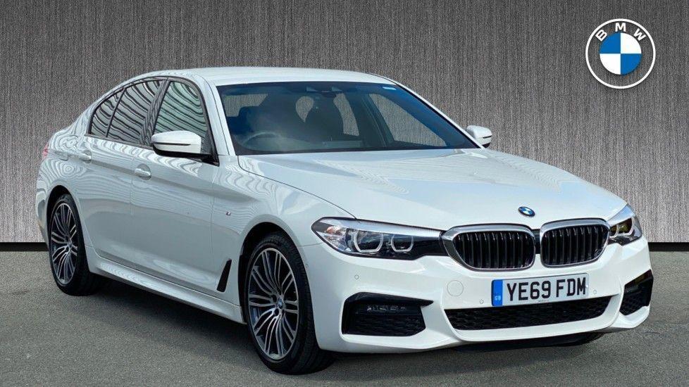Image 1 - BMW 520i M Sport Saloon (YE69FDM)
