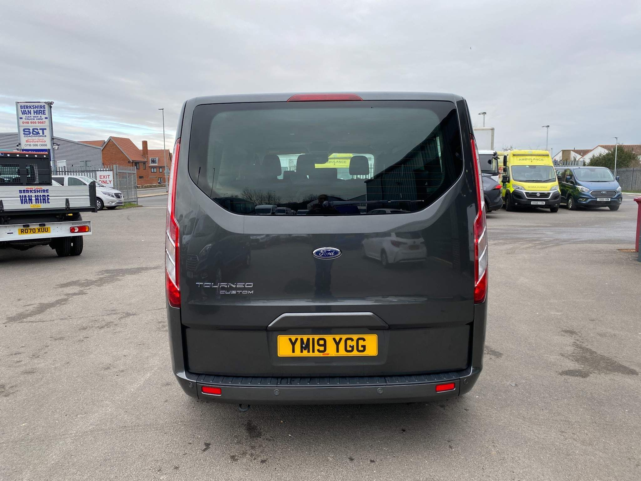 Ford Transit Custom  Mini Bus 9 Seater For Sale