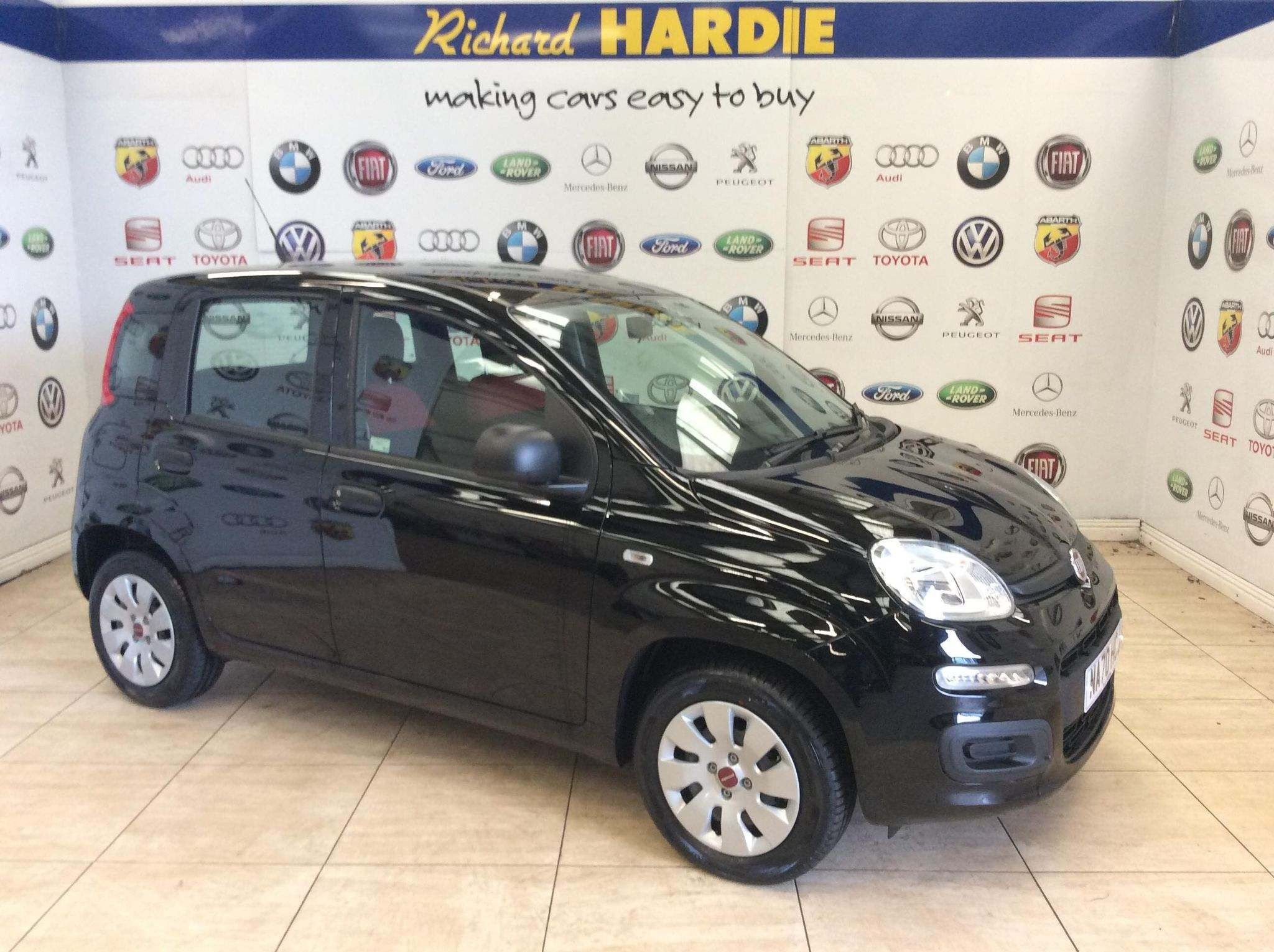 Used Fiat Panda Petrol Black 5dr 2020 For Sale In Sunderland Used Approved Jeep