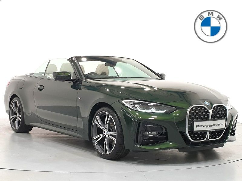 BMW 4 Series G23 420i M Sport Convertible B48 2.0i