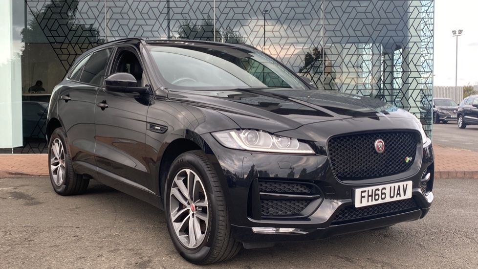 Used 2017 F-pace Diesel Estate 2.0d R-Sport 5dr Auto AWD