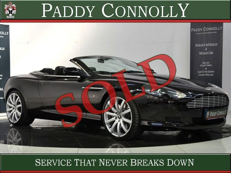 Aston Martin DB9 Volante 6.0 V12 *Low Mileage - Full History - Kahn Wheels*