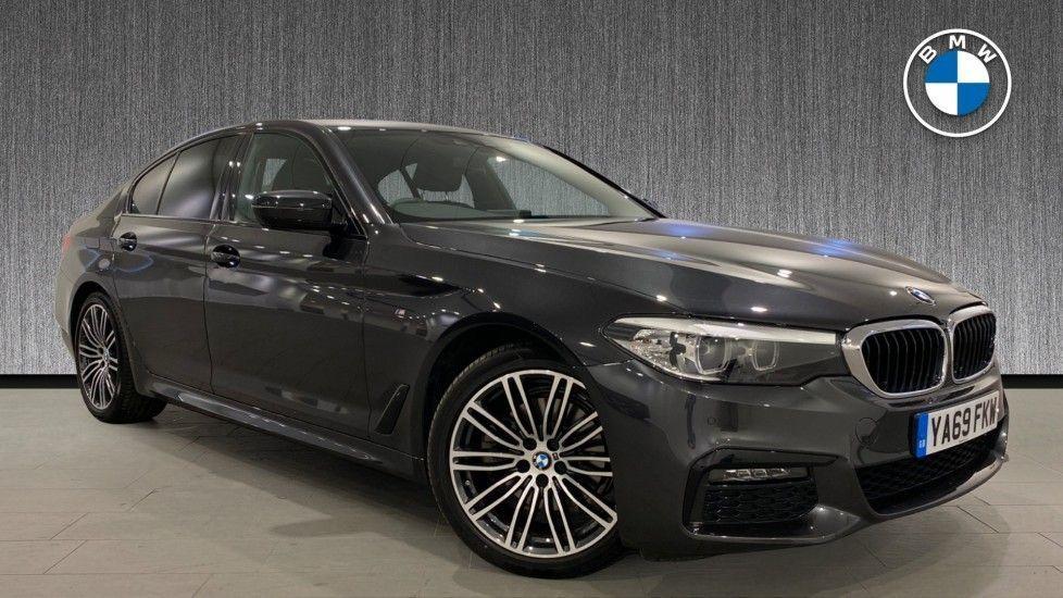 Image 1 - BMW 520d M Sport Saloon (YA69FKW)