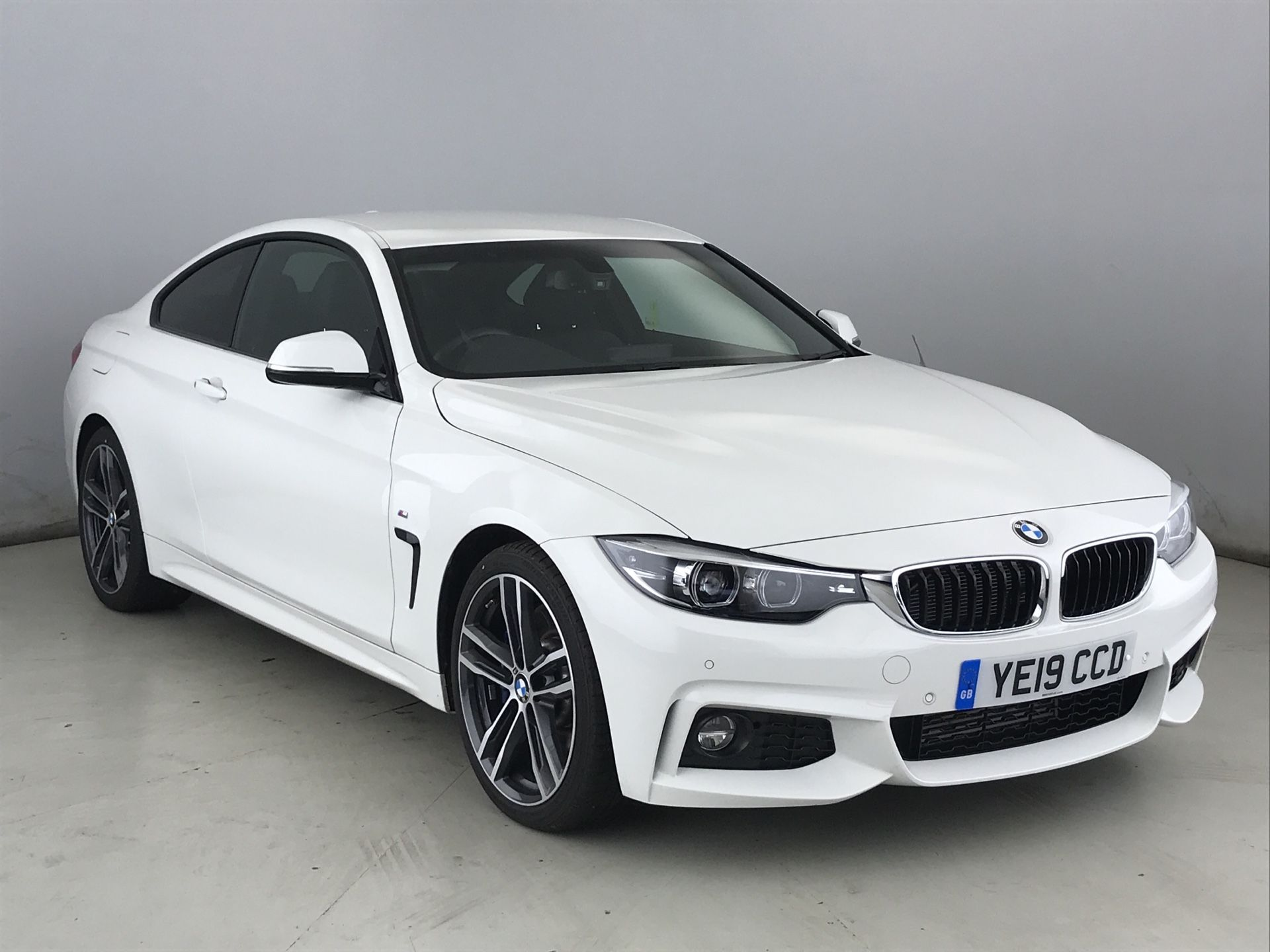 Image 1 - BMW 430d M Sport Coupe (YE19CCD)