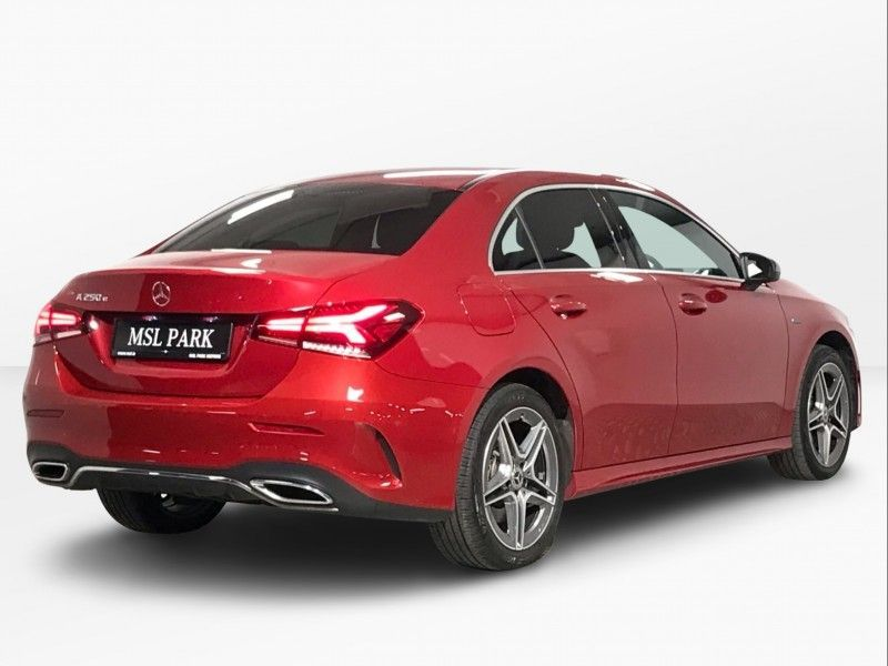 Used Mercedes-Benz A-Class 250e Hybrid - AMG Line - Reversing Camera - Cruise Control - Bluetooth Phone - Dual Zone Climate Control - 18 Inch Alloys - Auto Lights & Wipers (2020 (201))