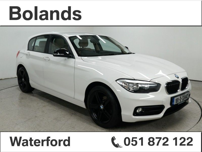 BMW 1 Series 116d SPORT 4DR AUTO From €70 Per Week