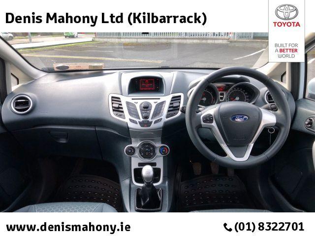 Used Ford Fiesta 1.25 ZETEC 80BHP 5DR @ DENIS MAHONY KILBARRACK (2012)