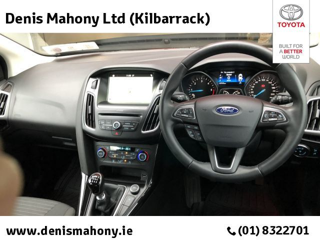 Used Ford Focus TITANIUM 1.5 TD SAT NAV PARKING SENSORS @ DENIS MAHONY KILBARRACK (2018 (181))
