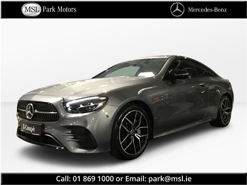 Mercedes-Benz E-Class 220d Coupe AMG Available to  order Q1 2022