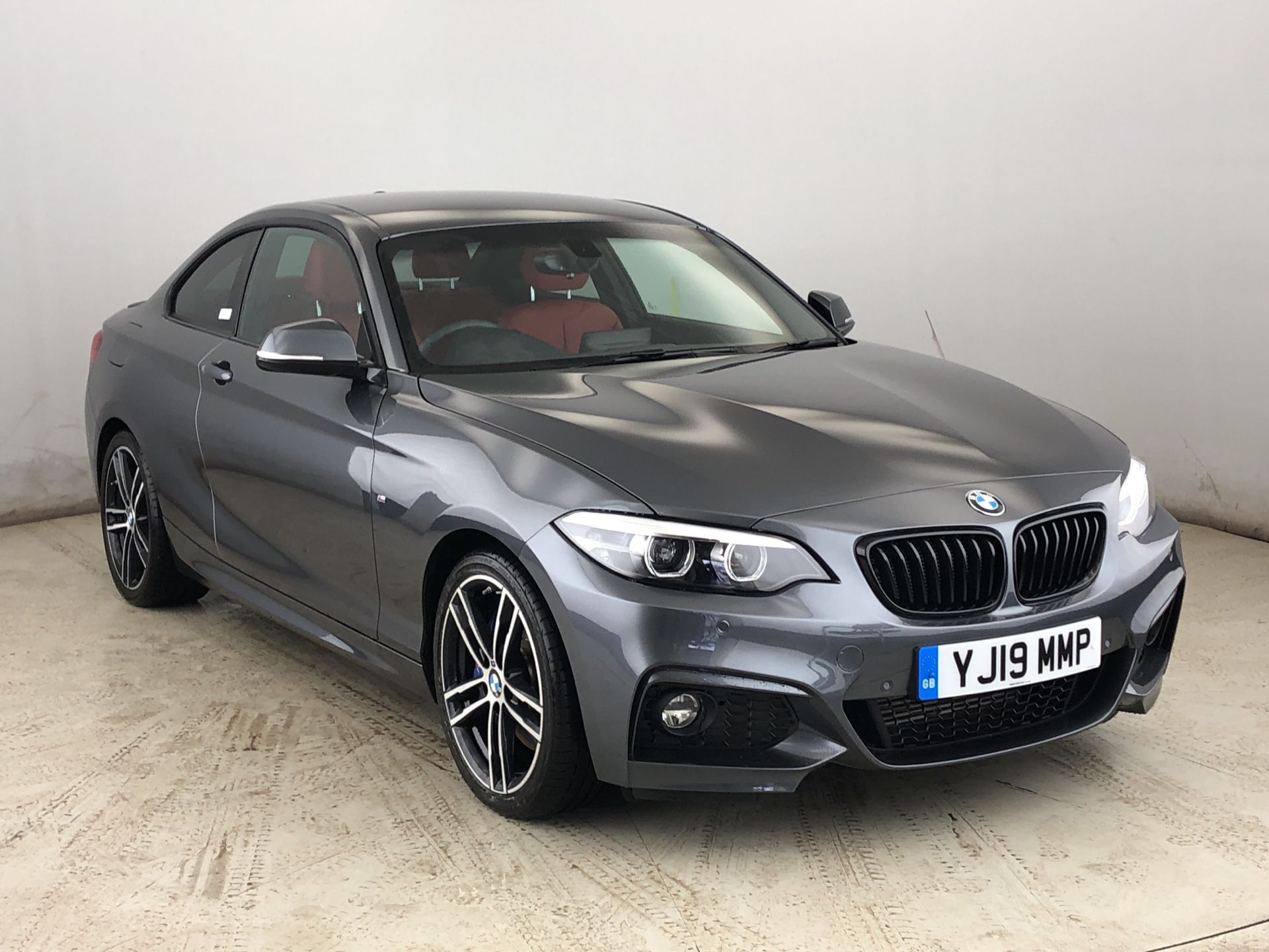Image 1 - BMW 218d M Sport Coupe (YJ19MMP)