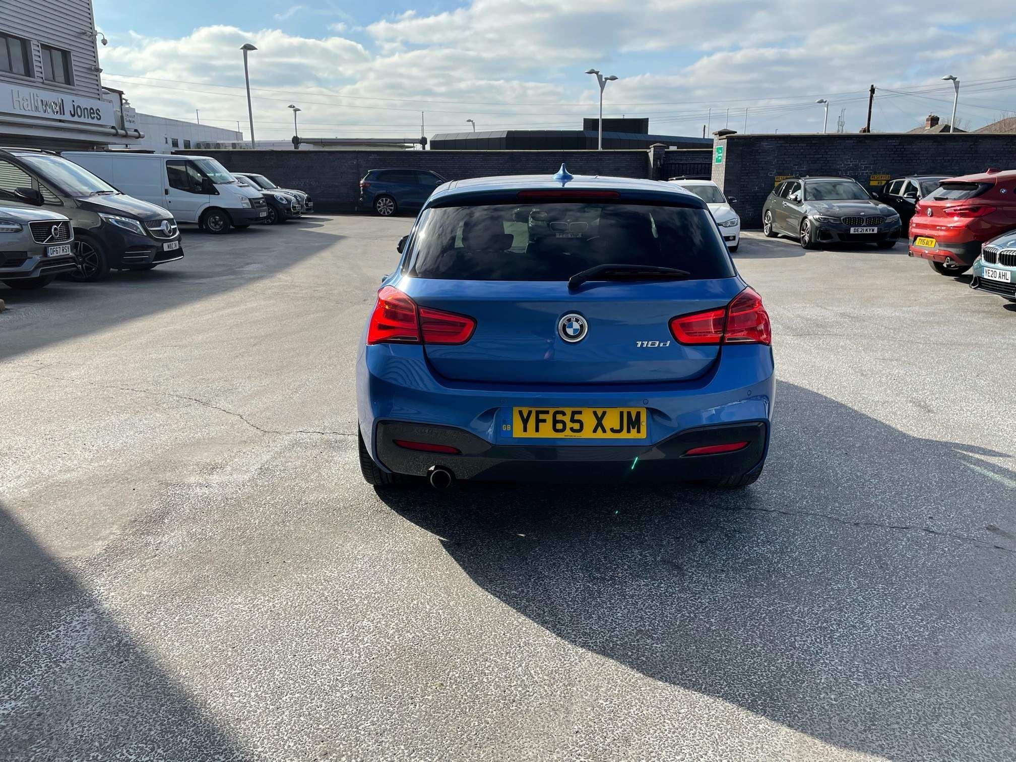 Image 5 - BMW 118d M Sport 5-Door (YF65XJM)