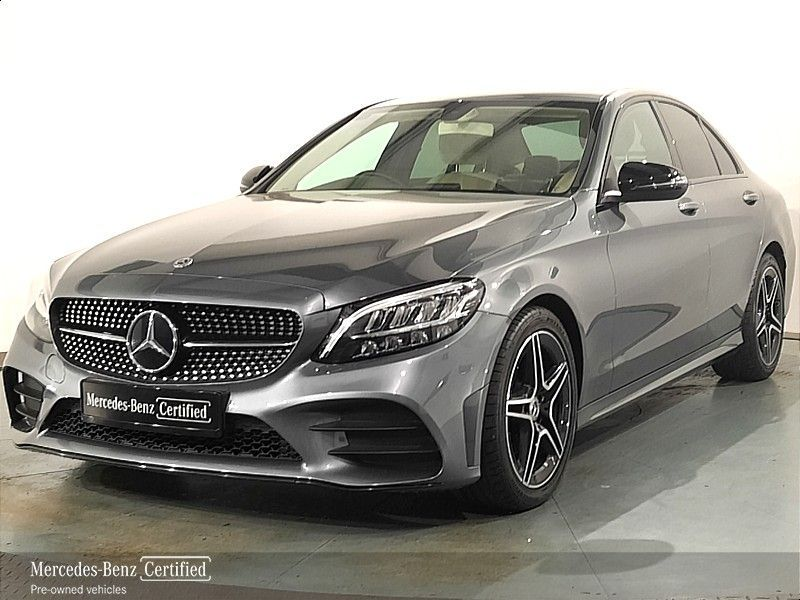 Mercedes-Benz C-Class C220D AMG exterior + nightpack from €544 per month*