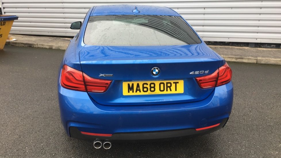 Image 26 - BMW 420d xDrive M Sport Coupe (MA68ORT)