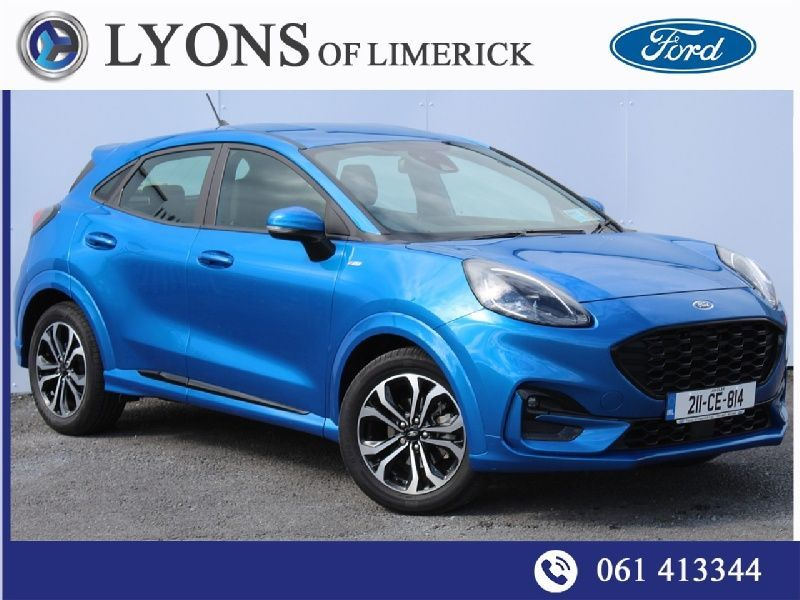 Ford Puma ST-LINE 5D 1.0T 125 MHEV Contact John on 083 089 6102