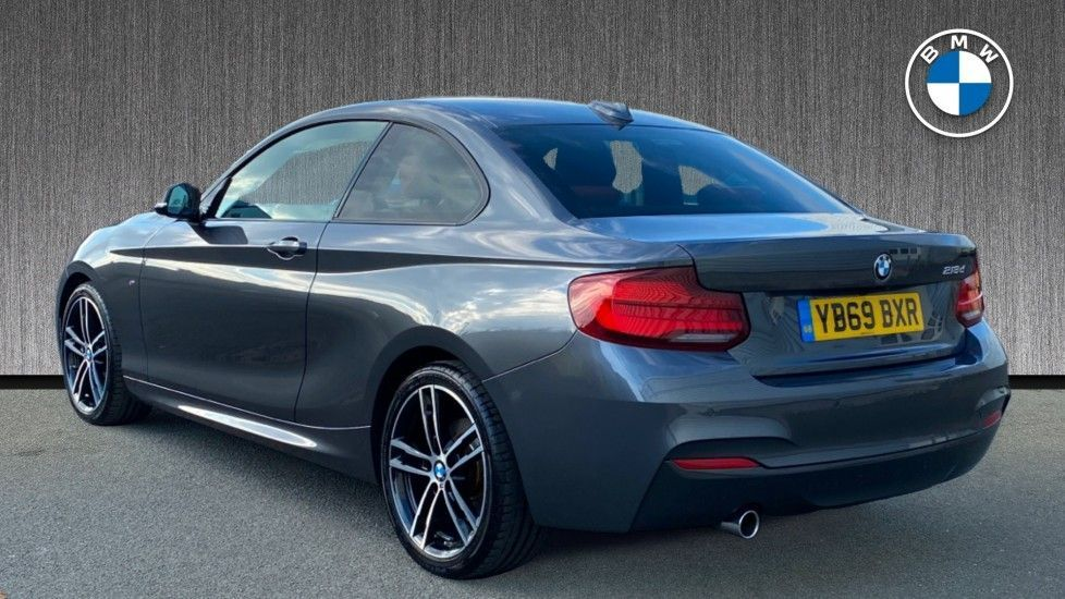 Image 2 - BMW 218d M Sport Coupe (YB69BXR)
