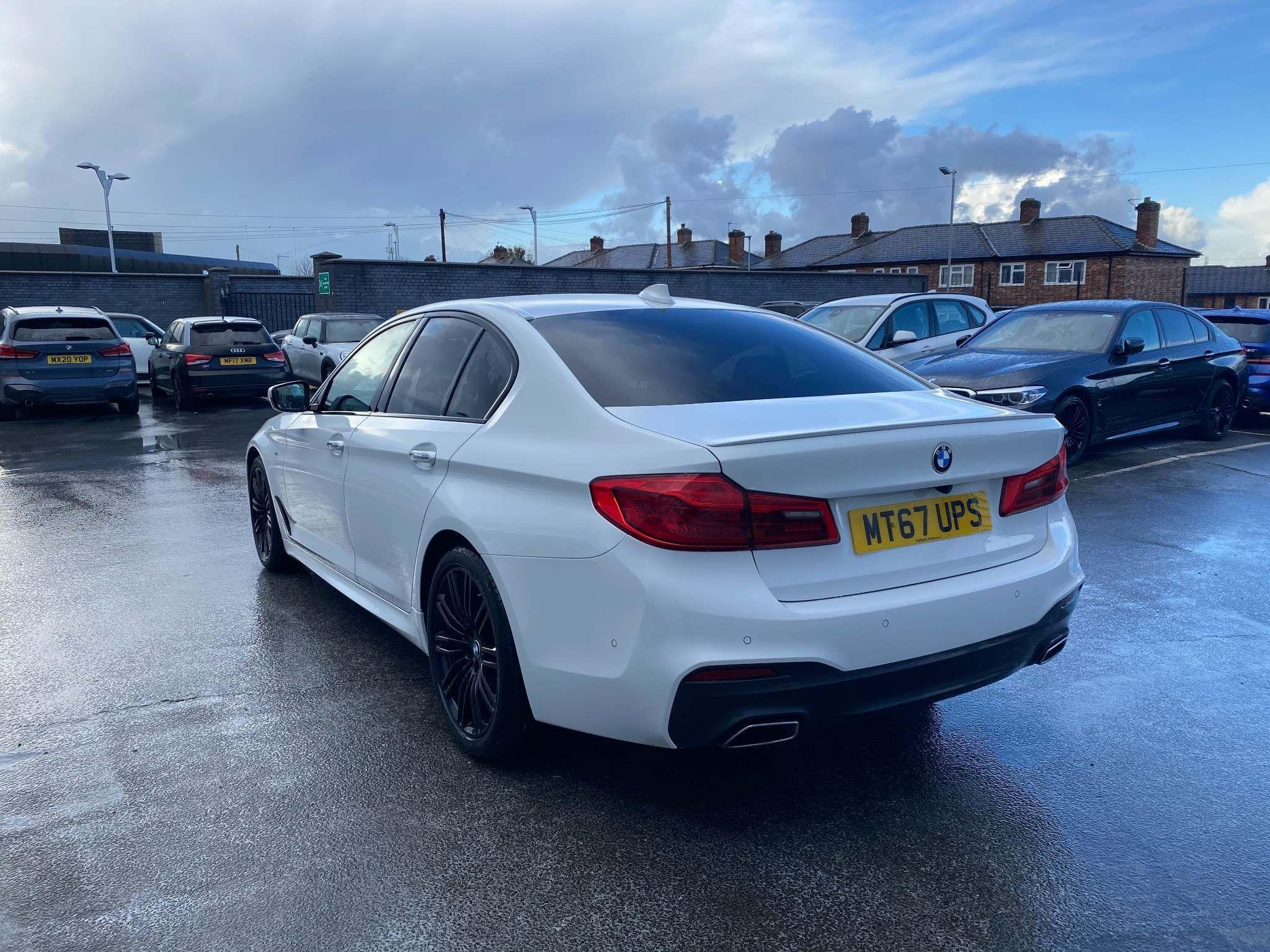 Image 2 - BMW 520d M Sport Saloon (MT67UPS)