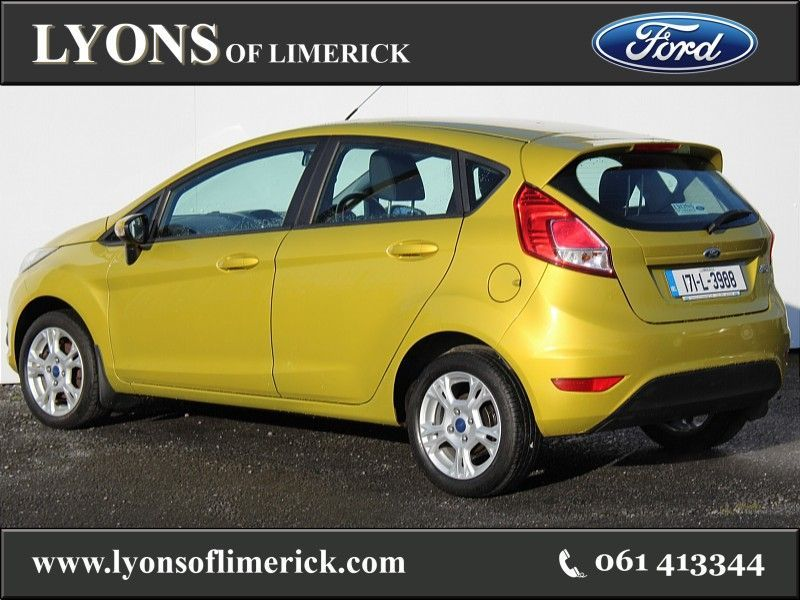 Used Ford Fiesta ZETEC 1.25 60PS M5 5DR (2017 (171))