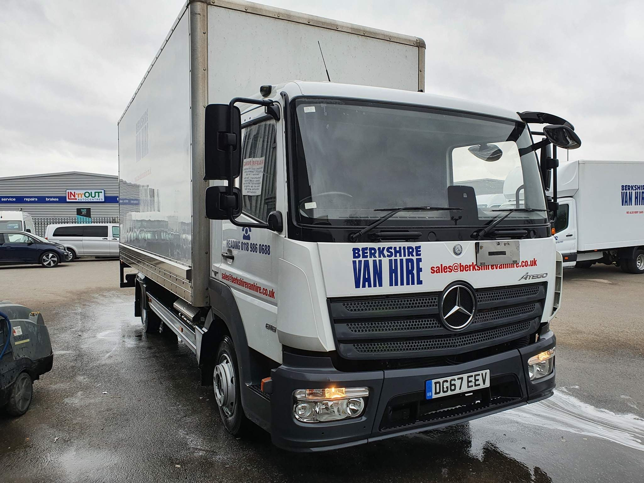 MercedesAtego 816 Box Van Tail Lift7.5 Ton Box Van For Sale