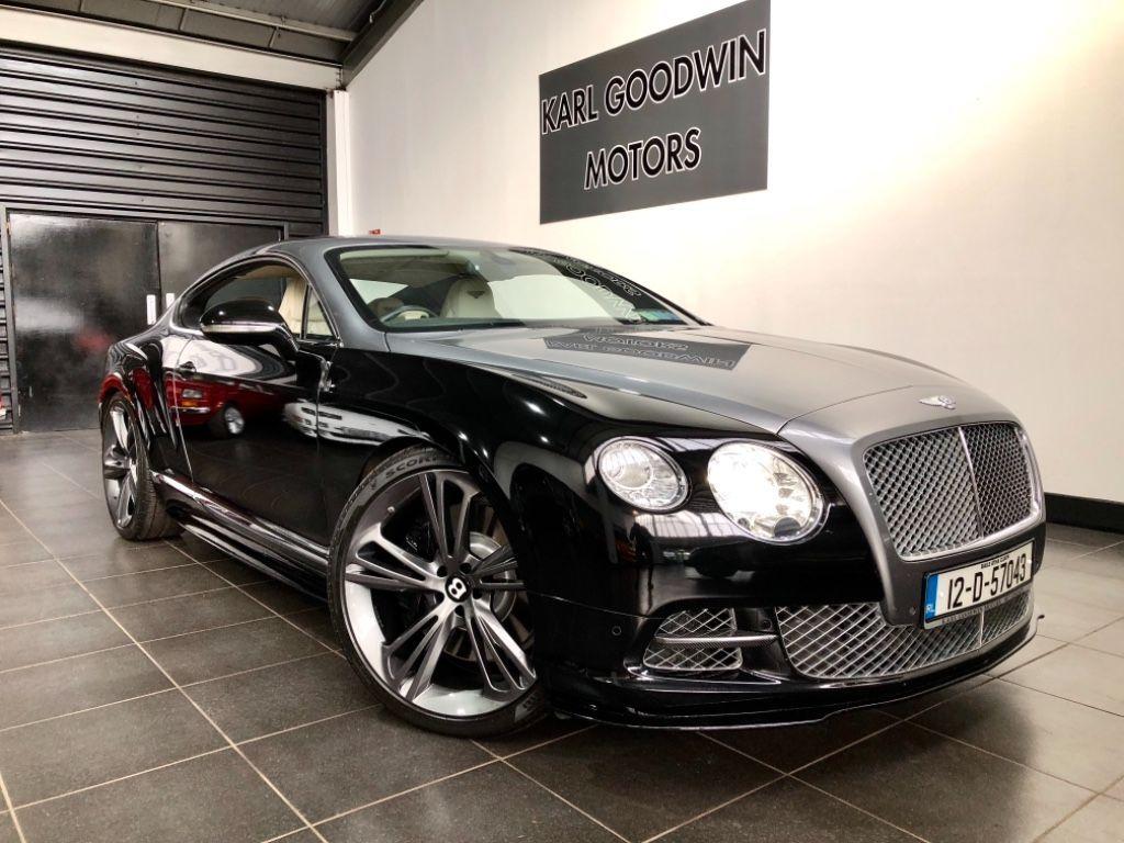 Bentley Continental GT SPEED W12 TWIN TURBO BREITLING SPEC