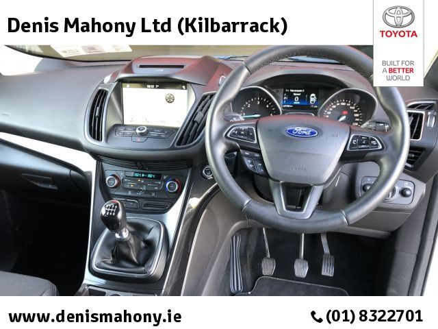 Used Ford Kuga TITANIUM 1.5 TDCI HALF LEATHER/PARKING SENSORS @ DENIS MAHONY KILBARRACK (2018 (181))