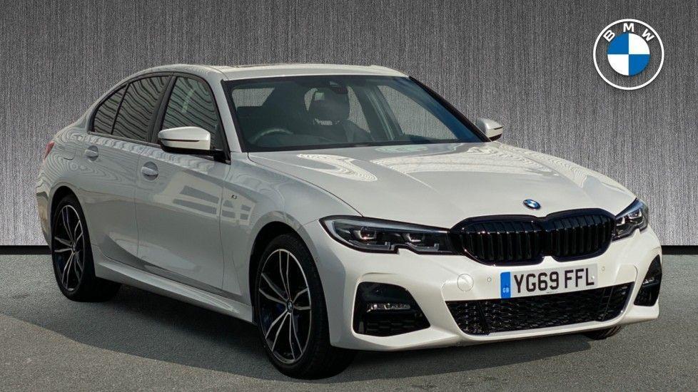 Image 1 - BMW 330e M Sport Saloon (YG69FFL)