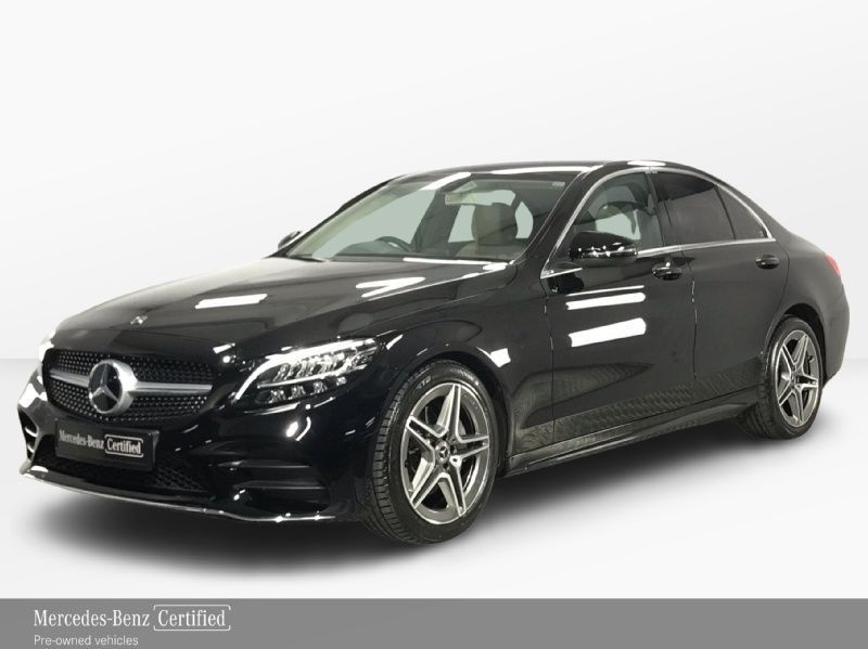 Mercedes-Benz C-Class C200 AMG Exterior - Automatic - Heated Seats - Dual Climate Control - Multi Function Steering Wheel - Cruise Control - Full Leather Interior