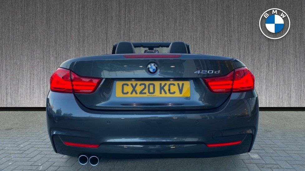 Image 15 - BMW 420d M Sport Convertible (CX20KCV)