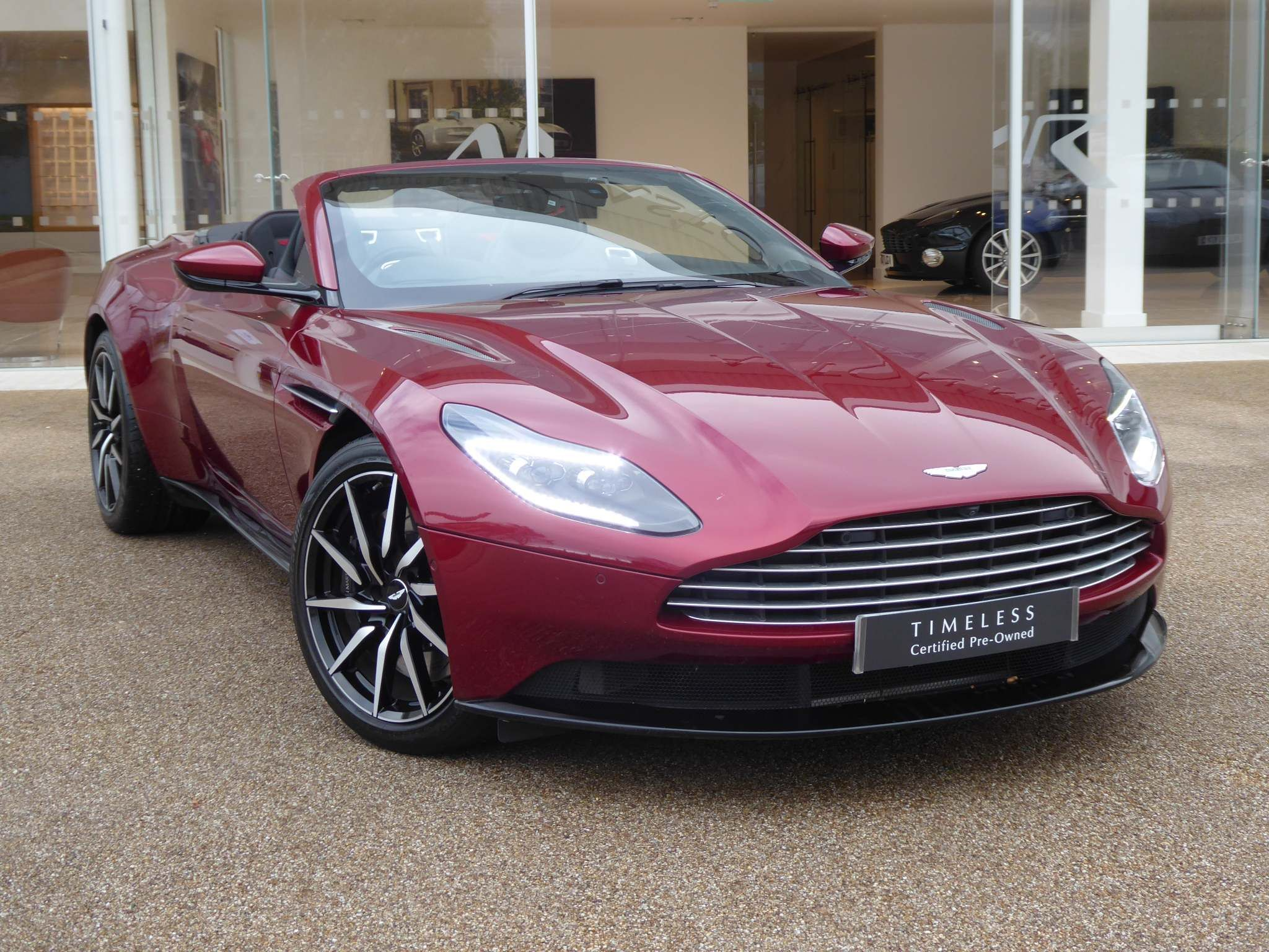 Red Aston Martin Db11 Used Cars For Sale Autotrader Uk