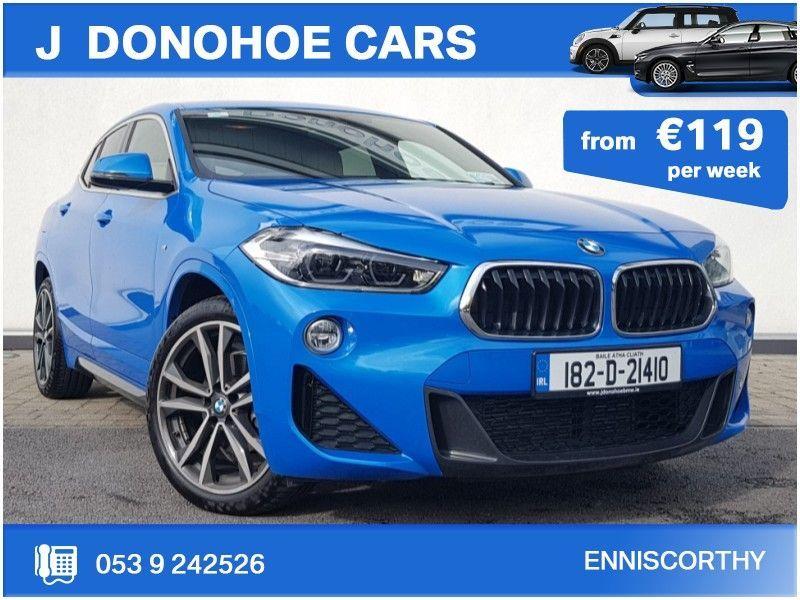 BMW X2 18D MSPORT  4DR AUTO From €119 Per Week