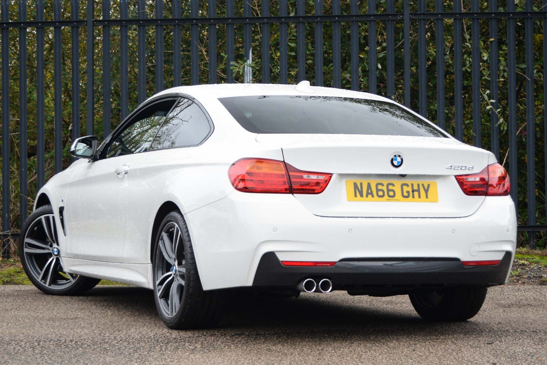Image 2 - BMW 420d M Sport Coupe (NA66GHY)