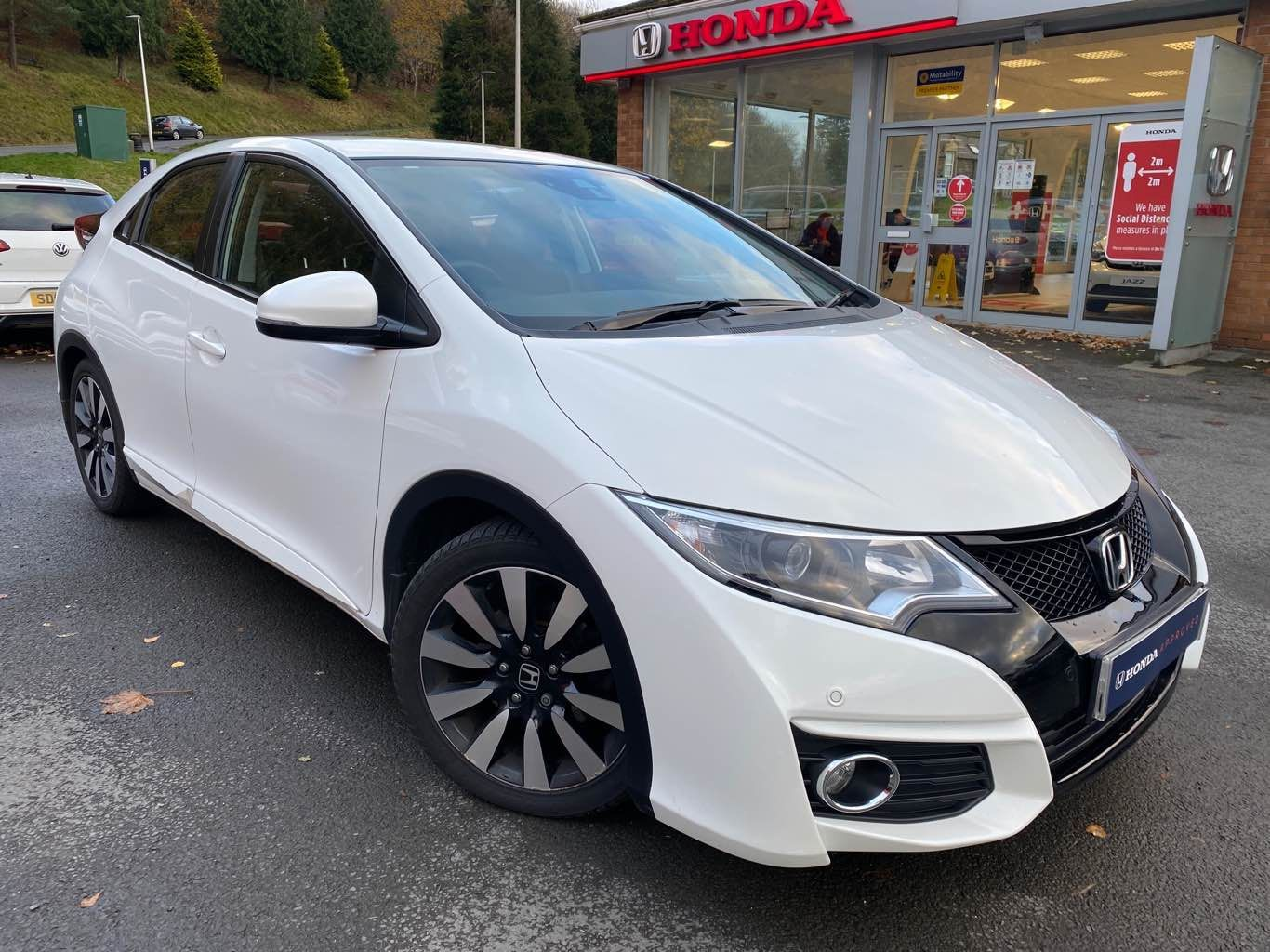 Honda Civic 1.8I VTEC SE Plus Navi