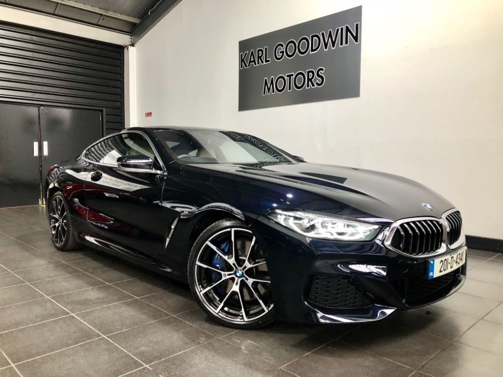 BMW 8 Series 840D XDRIVE M-SPORT COUPE HIGH SPEC