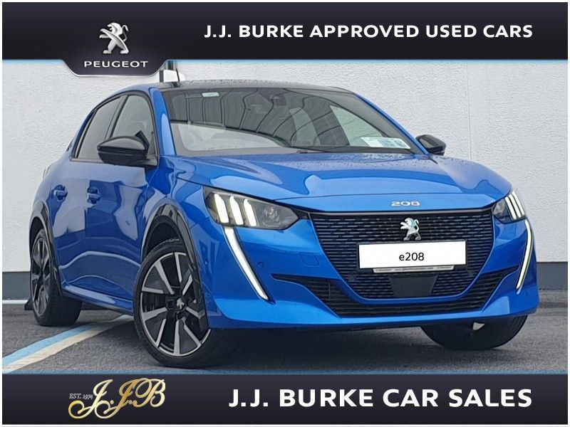 Peugeot 208 GT 50kWh 136bhp All Electric e208