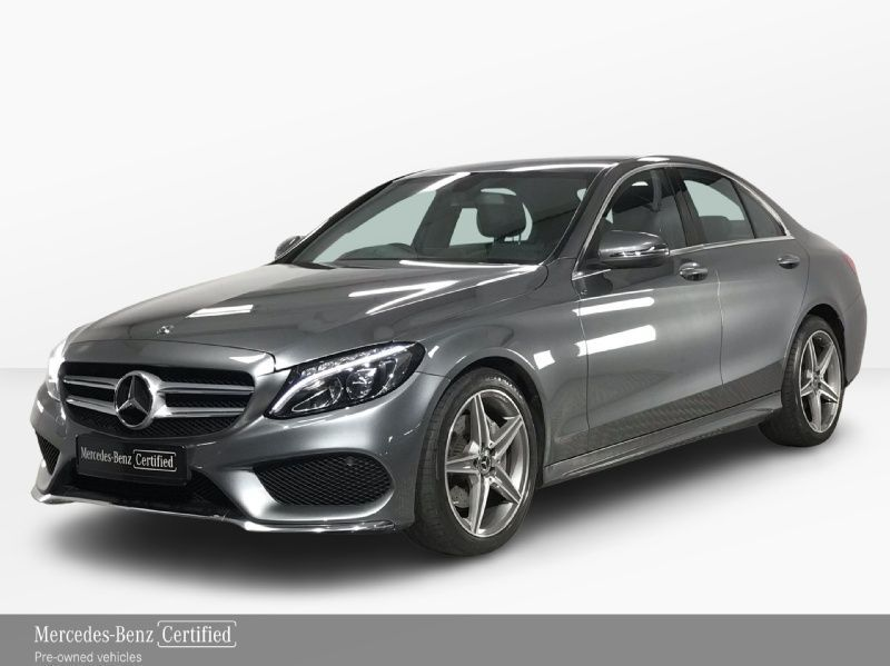 Mercedes-Benz C-Class 180d AMG Automatic - Reversing Camera - Cruise Control - Satellite Navigation - Climate Control - Heated Front Seats - Dynamic Drive Mode Select