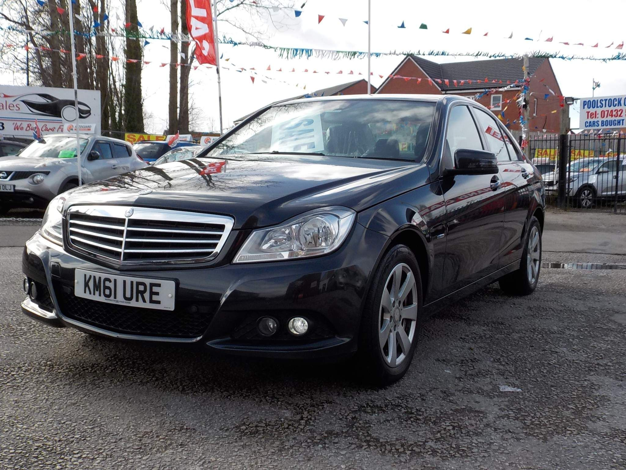 Mercedes-Benz C Class 2.1 C220 CDI BlueEFFICIENCY SE 4dr
