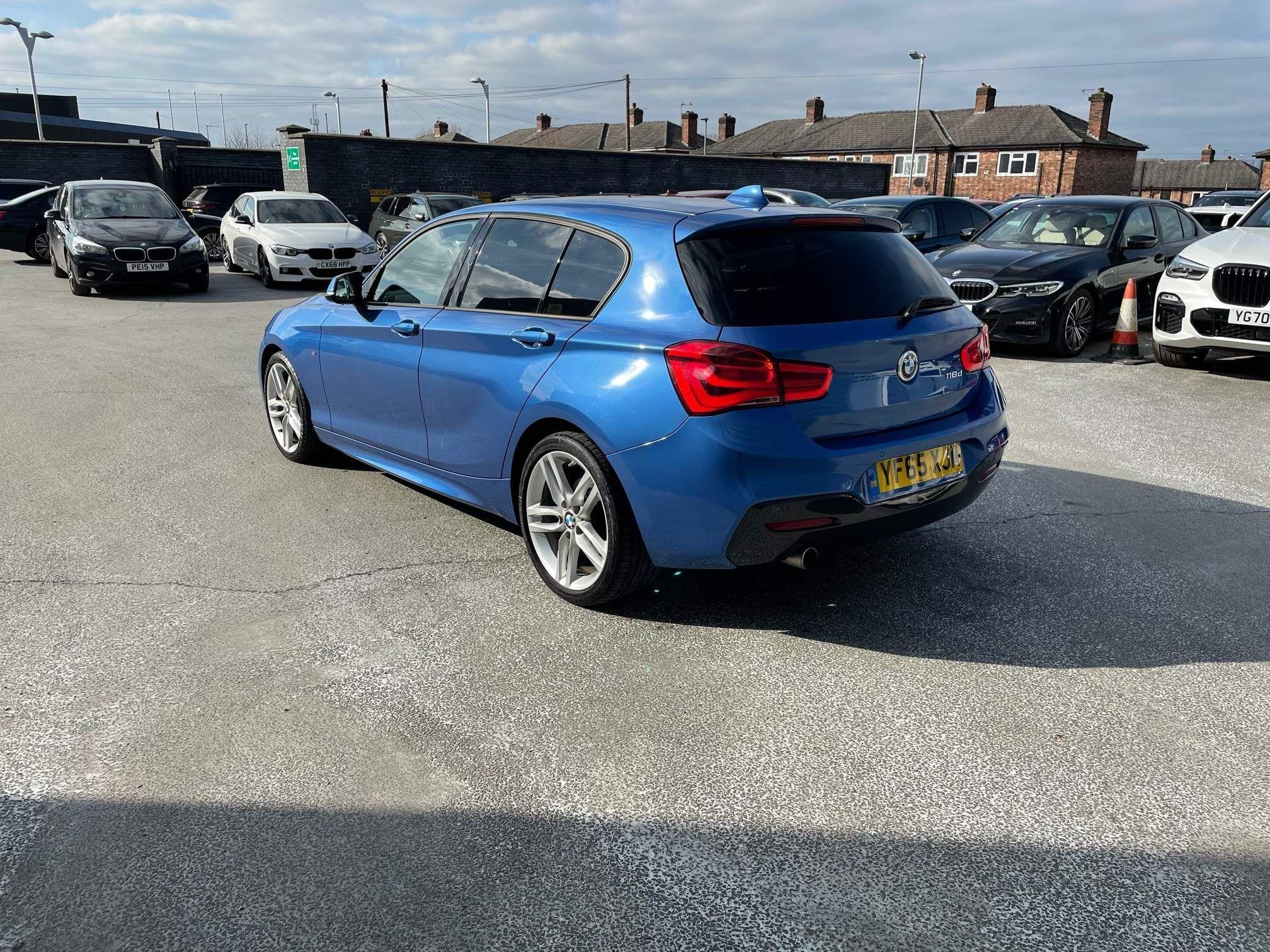 Image 2 - BMW 118d M Sport 5-Door (YF65XJM)