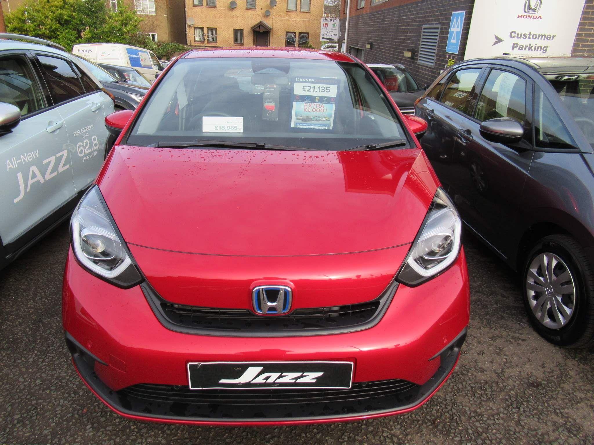 Honda Jazz 1.5 h i-MMD SR eCVT (s/s) 5dr