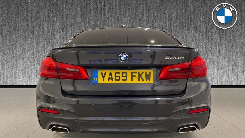 Image 31 - BMW 520d M Sport Saloon (YA69FKW)