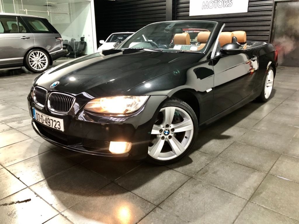 Used BMW 3 Series 325i E93 CONVERTIBLE  3.0 STRAIGHT 6 AUTO (2007)