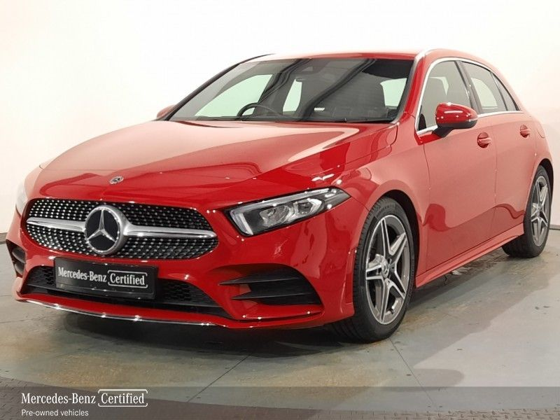 Mercedes-Benz A-Class A180D AMG Line + Smartphone Integration from €398 per month*