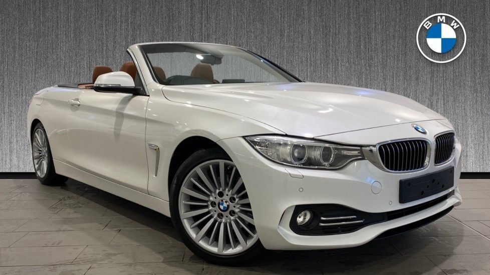 Image 1 - BMW 420d Luxury Convertible (YG14TXK)
