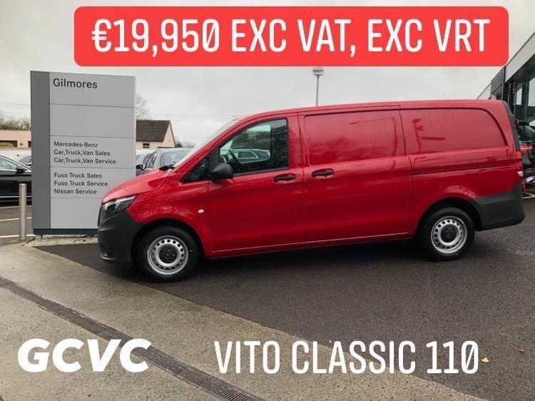 Mercedes-Benz Vito 110L CLASSIC €19,950 Exc VAT, Exc VRT