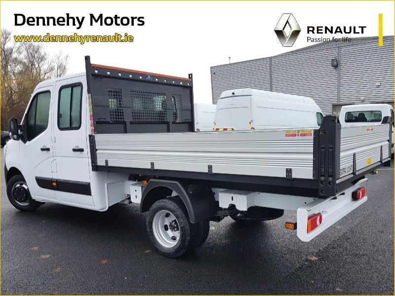 Renault Master Double Cab Twin Wheel Tipper