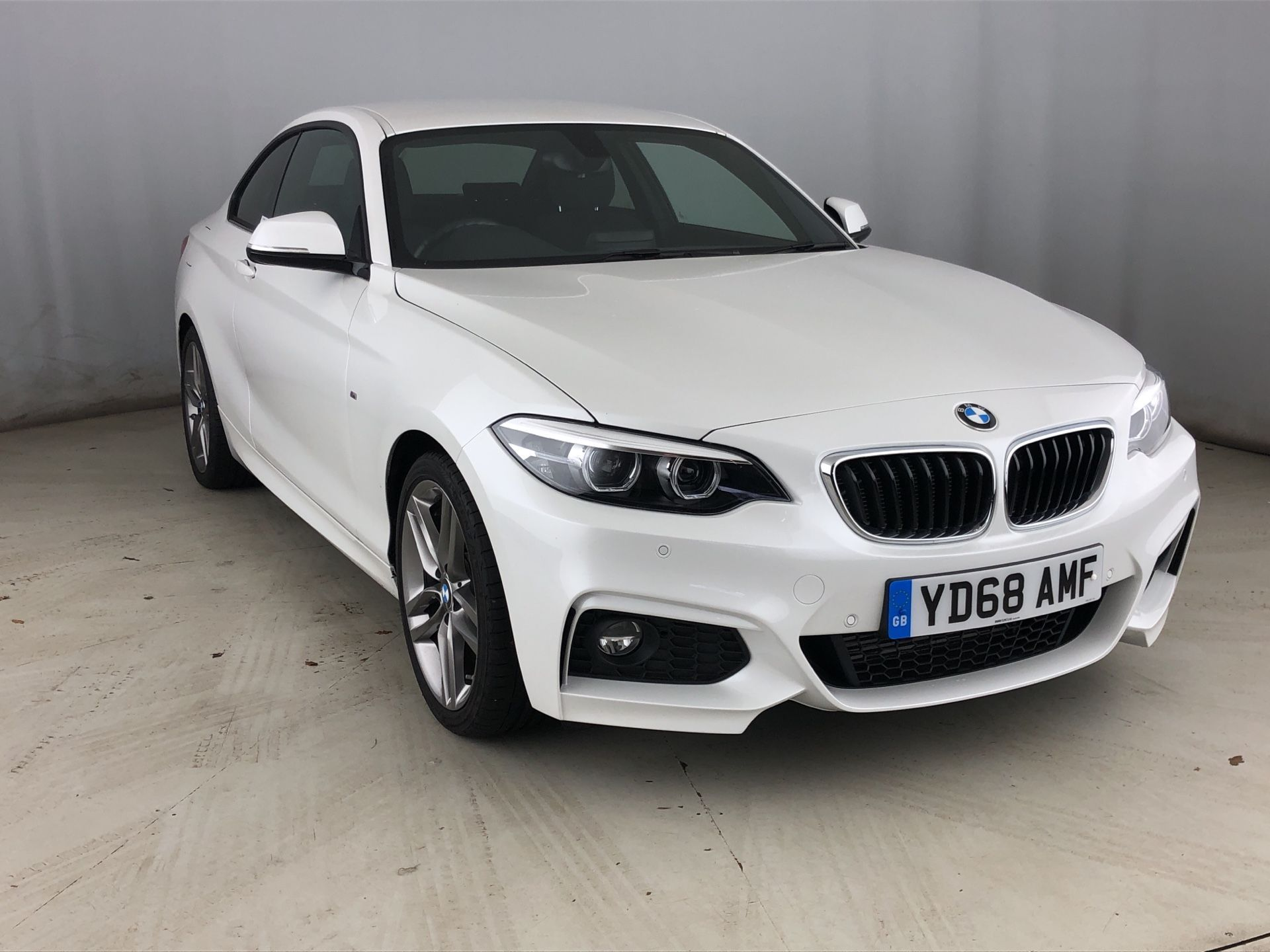 Image 1 - BMW 220d M Sport Coupe (YD68AMF)