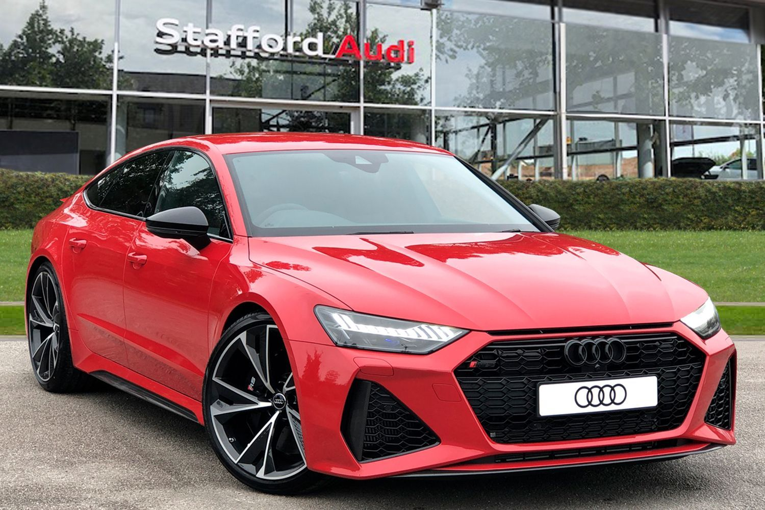 Red Audi Rs7 Used Cars For Sale Autotrader Uk