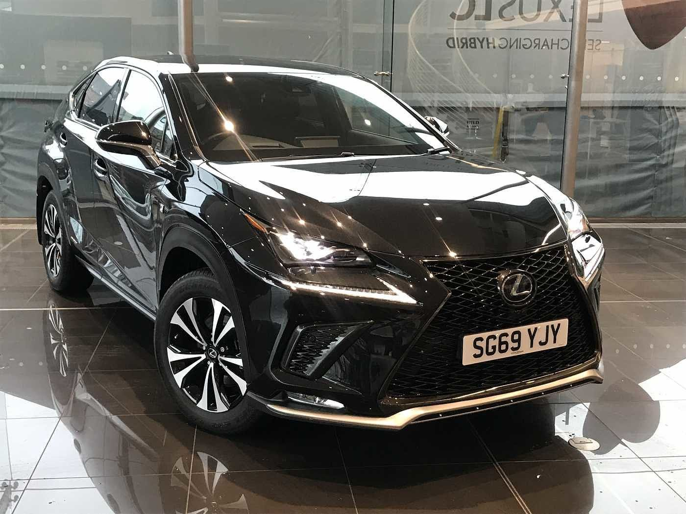 Used 2019 NX 300h F-Sport Takumi with Panoramic Roof