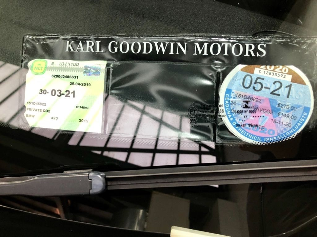 Used BMW 4 Series 420 D F32 M SPORT 2DR AUTO (2015 (151))